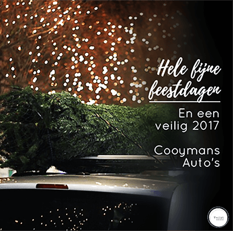 Feestdagen Kerst, Oud en Nieuw bij Cooymans Auto's